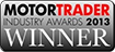 Motor Trader Industry Awards logo
