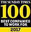 Sunday Times top 100 logo