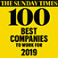 Sunday Times top 100 logo