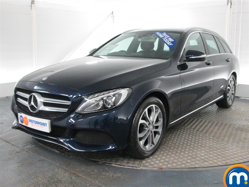 used or nearly new mercedes c class c220 bluetec sport estate auto blue for sale in peterborough. Black Bedroom Furniture Sets. Home Design Ideas