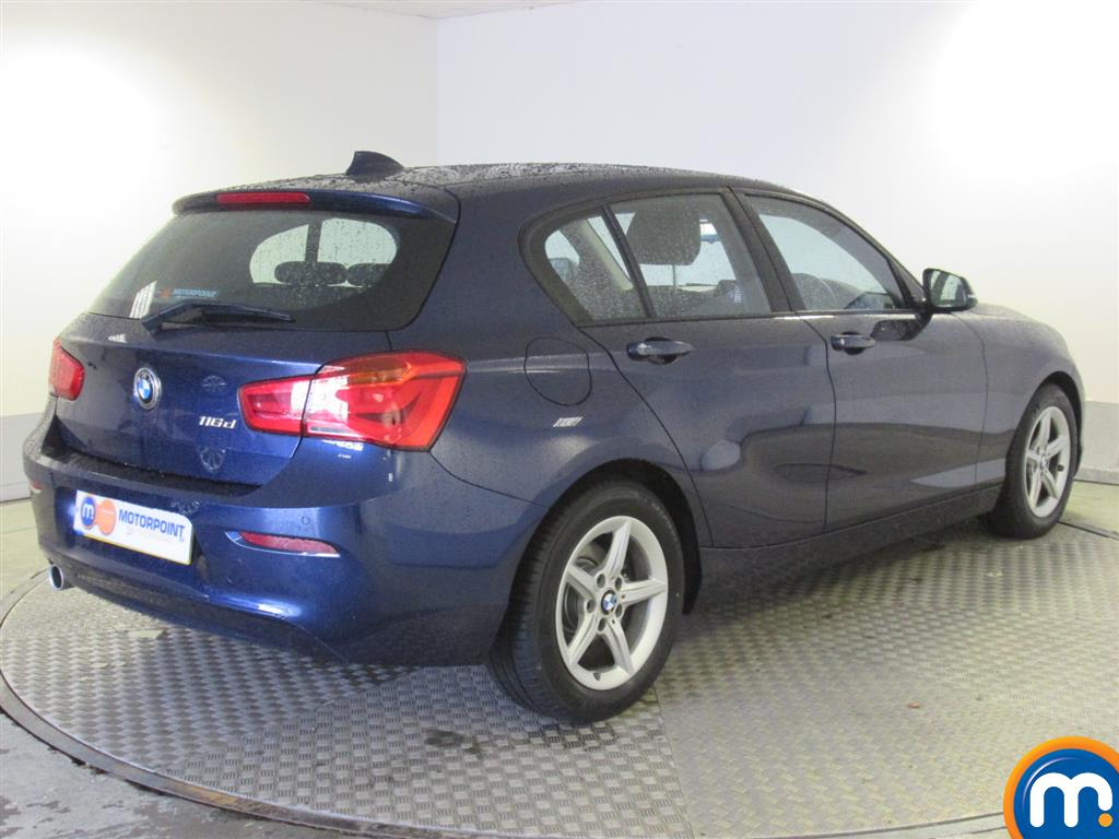 used or nearly new bmw 1 series 116d efficientdynamics plus 5dr new model blue for sale in. Black Bedroom Furniture Sets. Home Design Ideas
