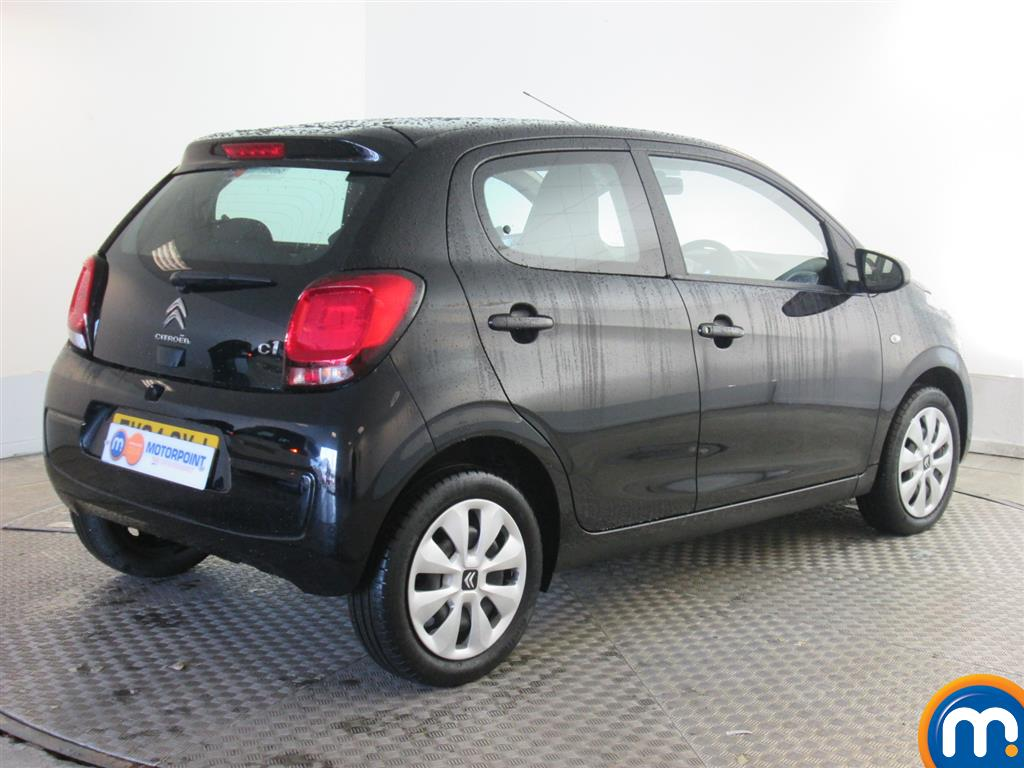 used or nearly new citroen c1 1 0 vti feel 5dr black for sale in newport motorpoint. Black Bedroom Furniture Sets. Home Design Ideas