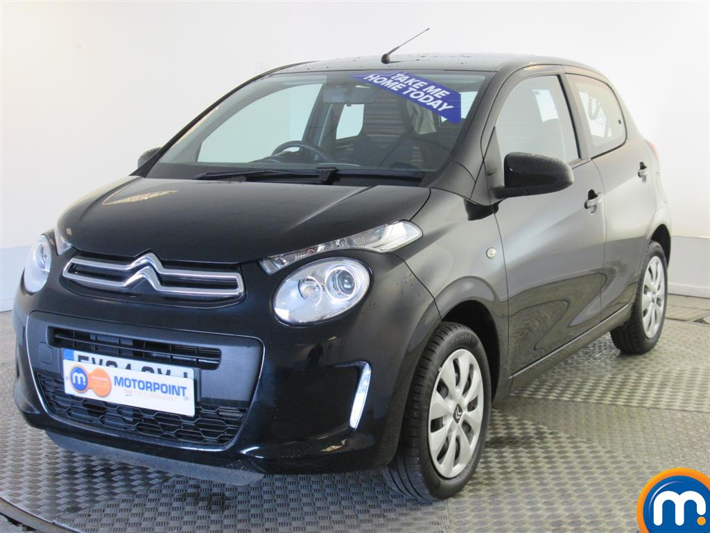 used or nearly new citroen c1 1 0 vti feel 5dr black for sale in burnley motorpoint. Black Bedroom Furniture Sets. Home Design Ideas