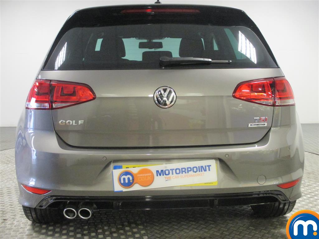 used or nearly new vw golf 1 4 tsi 150 r line 5dr dsg none act silver for sale in birmingham. Black Bedroom Furniture Sets. Home Design Ideas