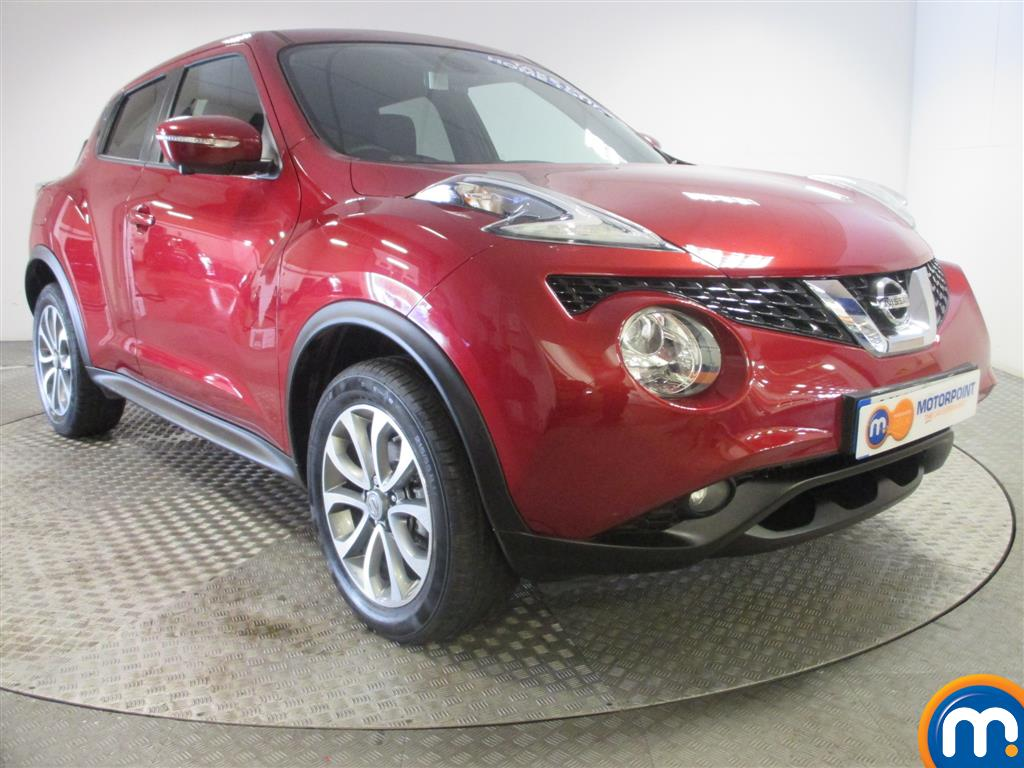 used or nearly new nissan juke 1 5 dci tekna 5dr red for sale in birmingham motorpoint. Black Bedroom Furniture Sets. Home Design Ideas