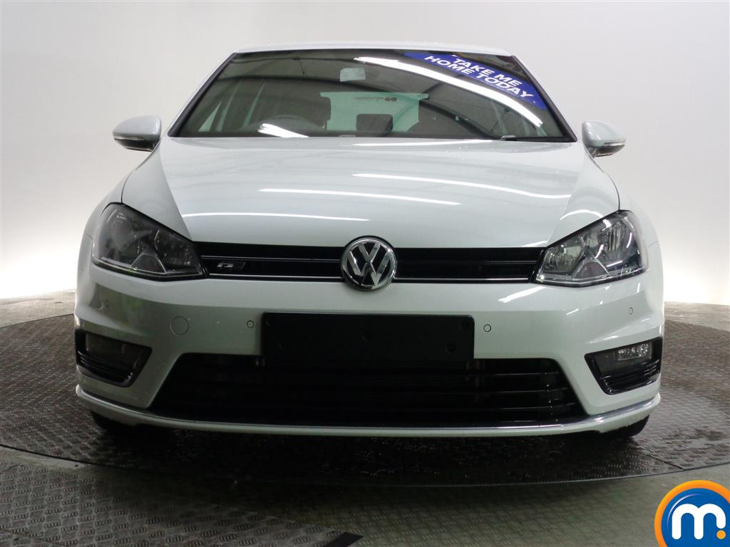 used or nearly new vw golf 1 4 tsi 150 r line 5dr dsg none act oryx white for sale in glasgow. Black Bedroom Furniture Sets. Home Design Ideas