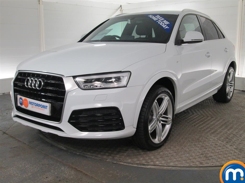 used or nearly new audi q3 2 0 tdi quattro s line plus. Black Bedroom Furniture Sets. Home Design Ideas