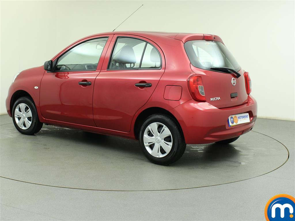 used or nearly new nissan micra 1 2 visia 5dr ac red for. Black Bedroom Furniture Sets. Home Design Ideas
