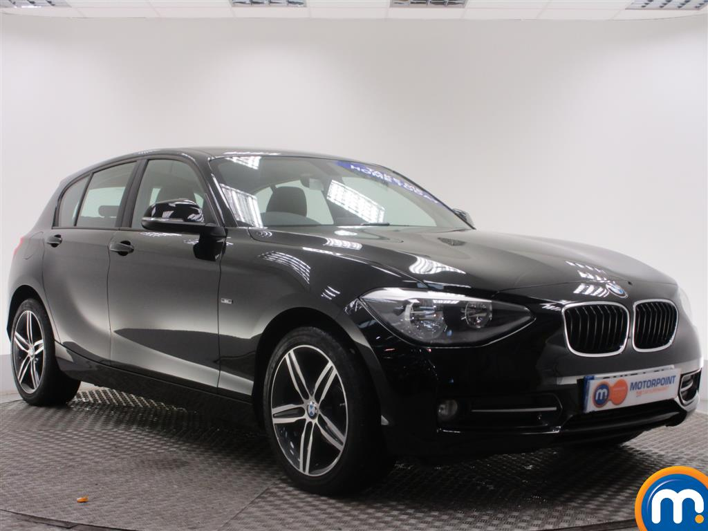 used or nearly new bmw 1 series 116d sport 5dr black for sale in birtley motorpoint. Black Bedroom Furniture Sets. Home Design Ideas