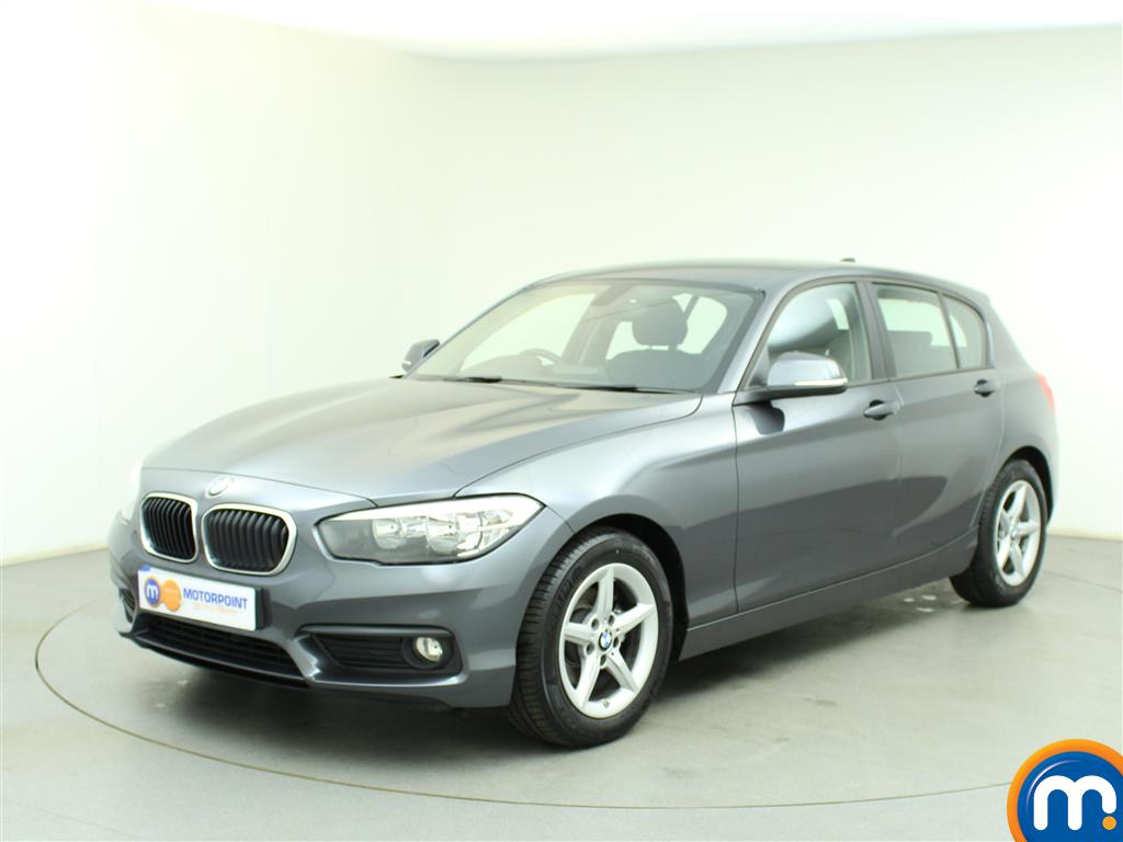 used or nearly new bmw 1 series 116d efficientdynamics plus 5dr new model silver for sale in. Black Bedroom Furniture Sets. Home Design Ideas