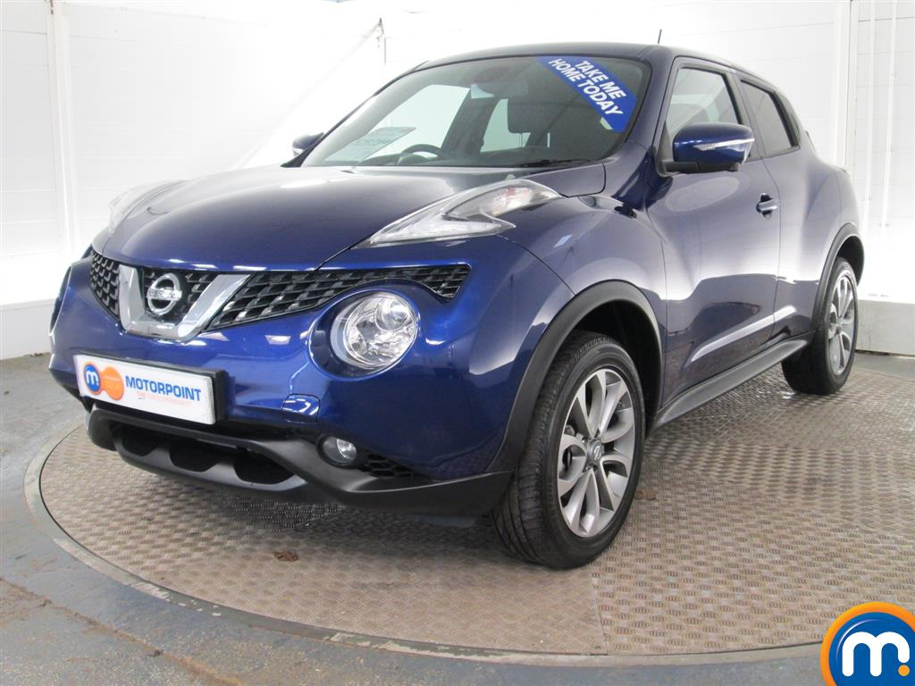 used or nearly new nissan juke 1 5 dci tekna 5dr blue for sale in burnley motorpoint. Black Bedroom Furniture Sets. Home Design Ideas