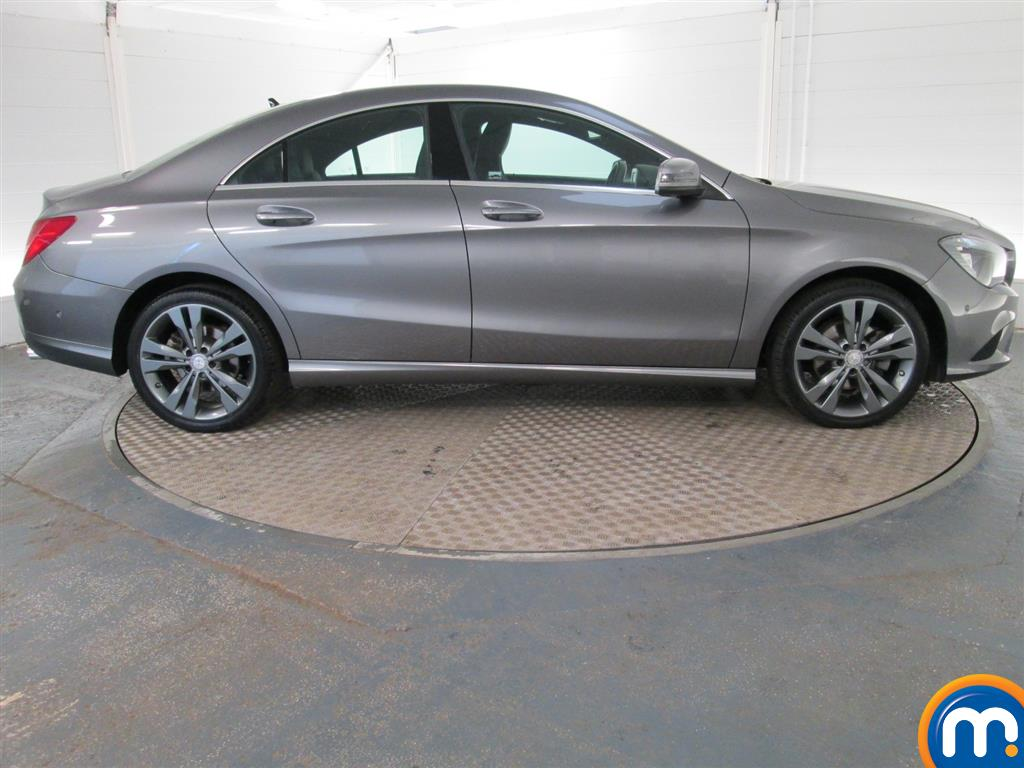 used or nearly new mercedes cla class cla 200 cdi sport 4dr coupe silver for sale in. Black Bedroom Furniture Sets. Home Design Ideas