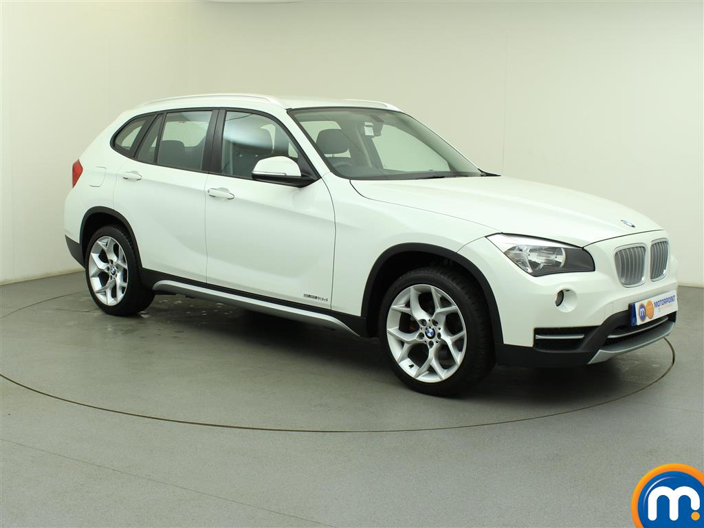 used or nearly new bmw x1 sdrive 18d xline estate white. Black Bedroom Furniture Sets. Home Design Ideas