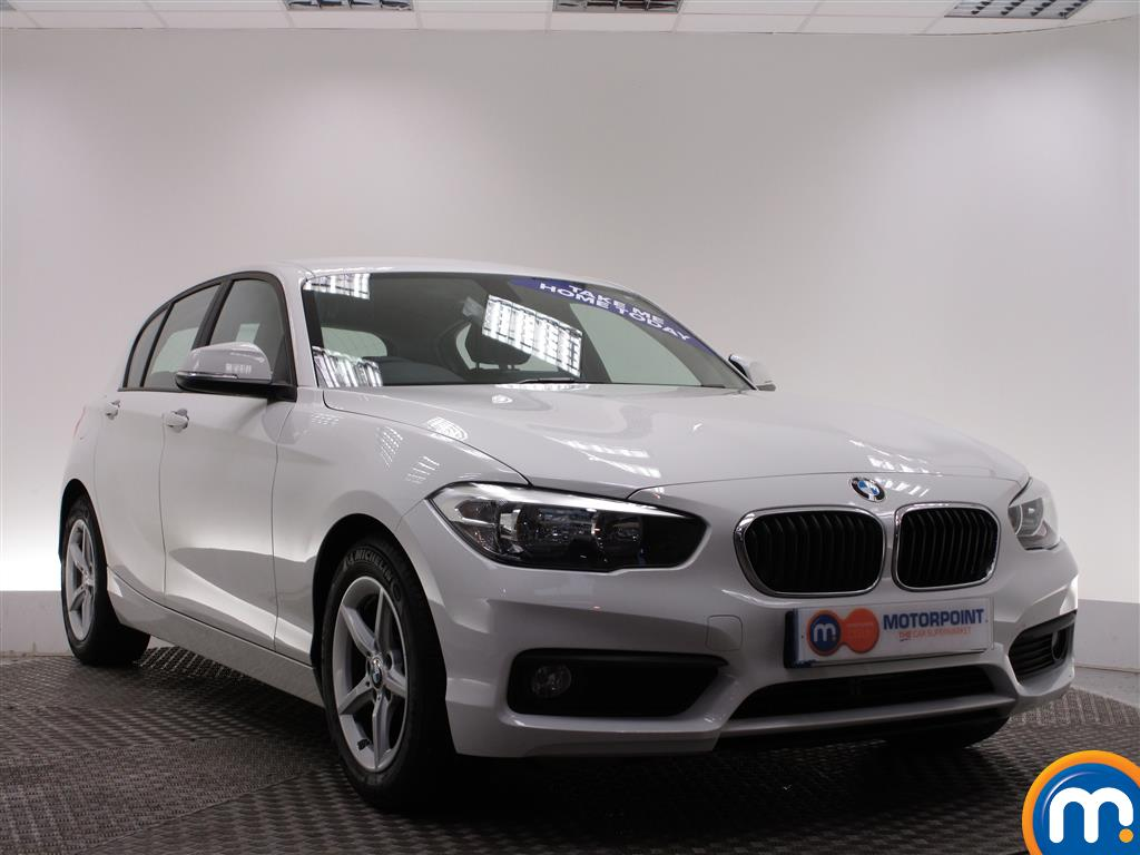 used or nearly new bmw 1 series 116d efficientdynamics plus 5dr new model white for sale in. Black Bedroom Furniture Sets. Home Design Ideas