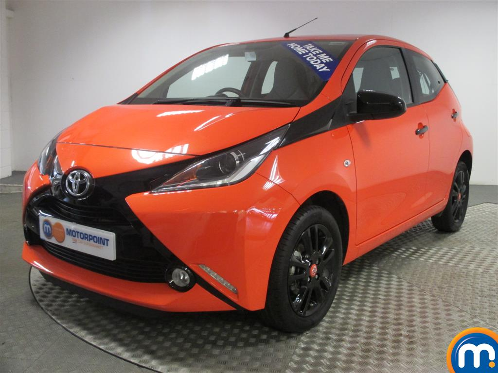 used or nearly new toyota aygo 1 0 vvt i x cite 5dr orange for sale in chingford motorpoint. Black Bedroom Furniture Sets. Home Design Ideas