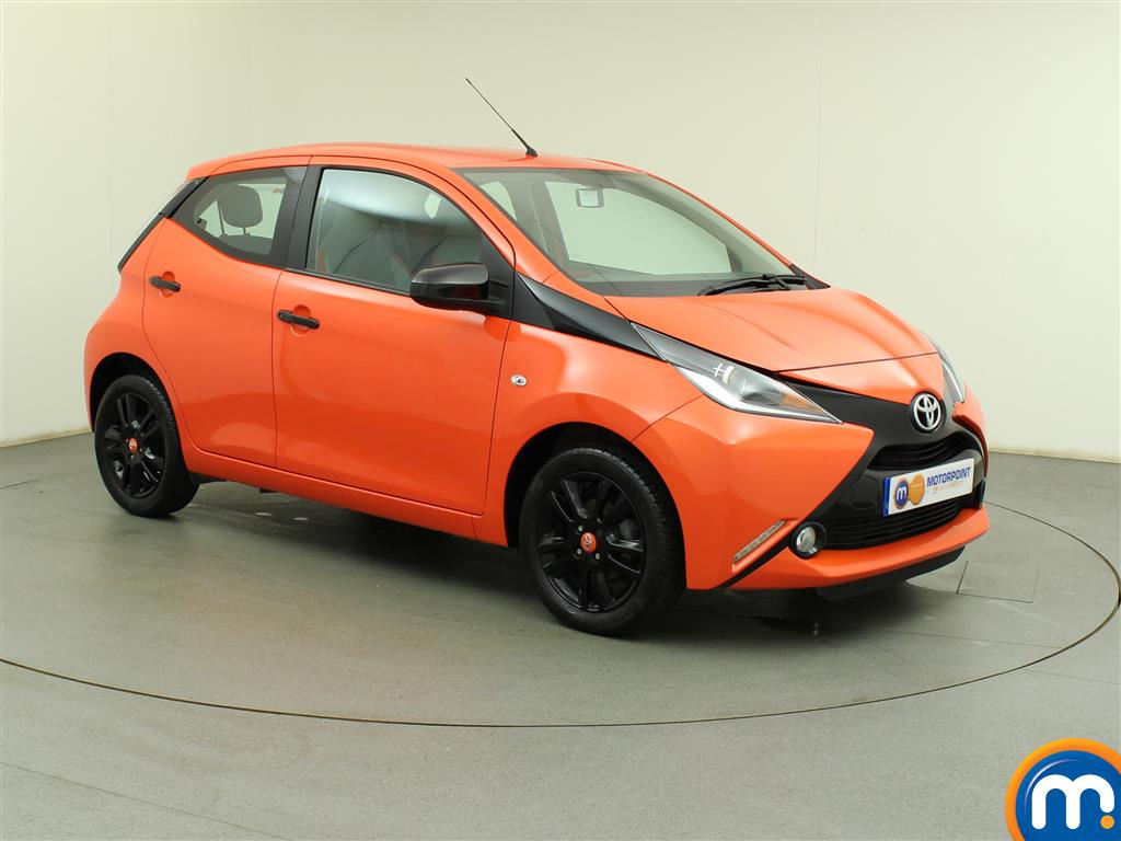 used or nearly new toyota aygo 1 0 vvt i x cite 5dr orange for sale in birtley motorpoint. Black Bedroom Furniture Sets. Home Design Ideas