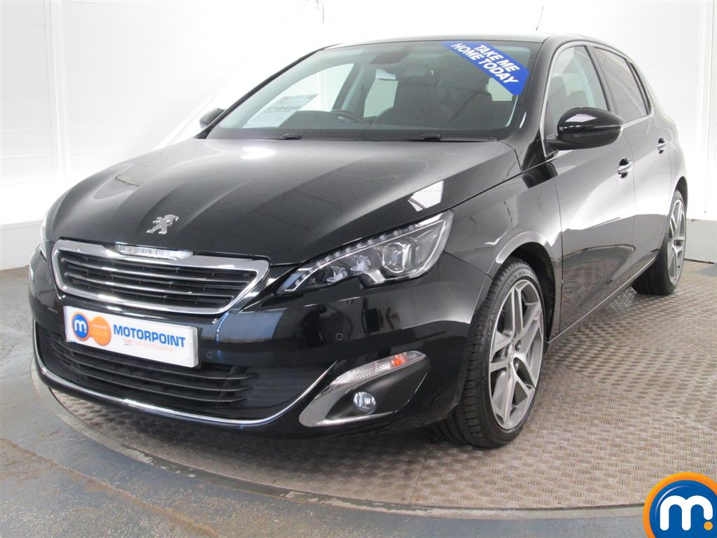 used or nearly new peugeot 308 1 6 e hdi 115 feline 5dr black for sale in peterborough motorpoint. Black Bedroom Furniture Sets. Home Design Ideas