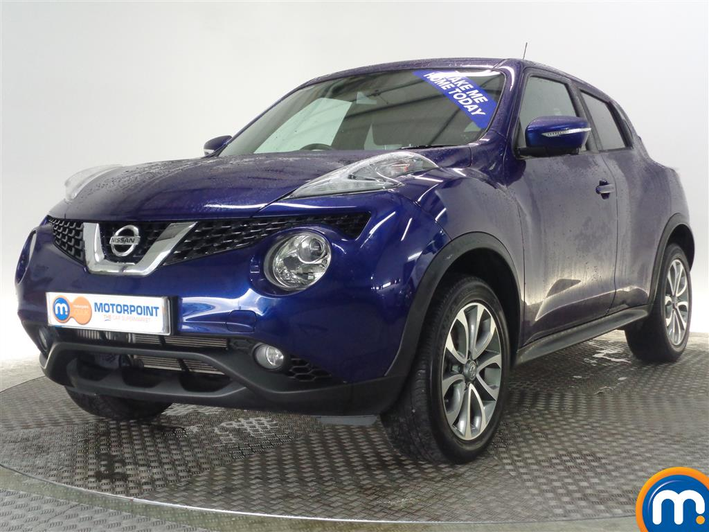 used or nearly new nissan juke 1 5 dci tekna 5dr blue for sale in glasgow motorpoint. Black Bedroom Furniture Sets. Home Design Ideas