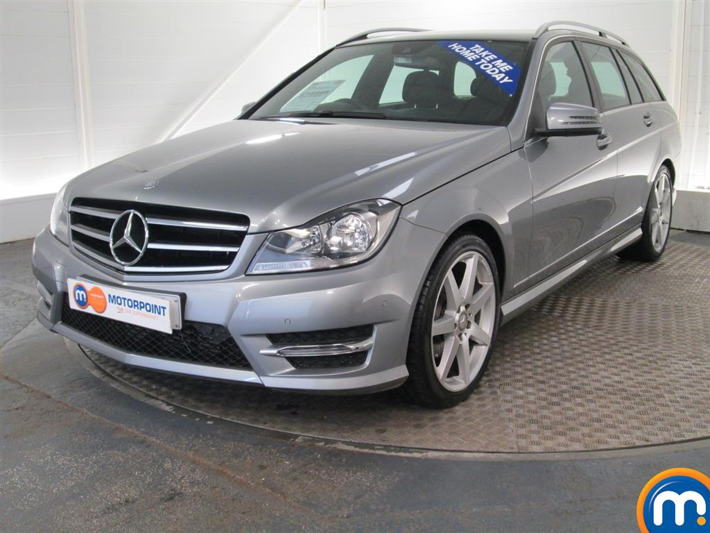 used or nearly new mercedes c class c220 cdi amg sport edition estate auto premium silver for. Black Bedroom Furniture Sets. Home Design Ideas