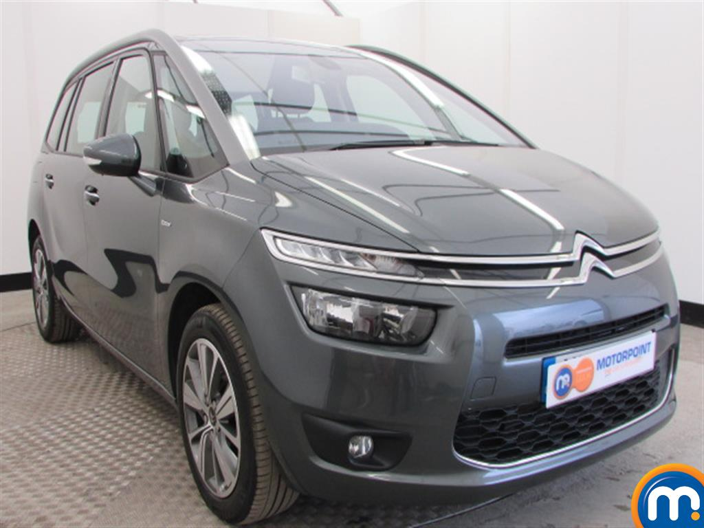 used or nearly new citroen grand c4 picasso 2 0 bluehdi exclusive 5dr auto silver for sale in. Black Bedroom Furniture Sets. Home Design Ideas