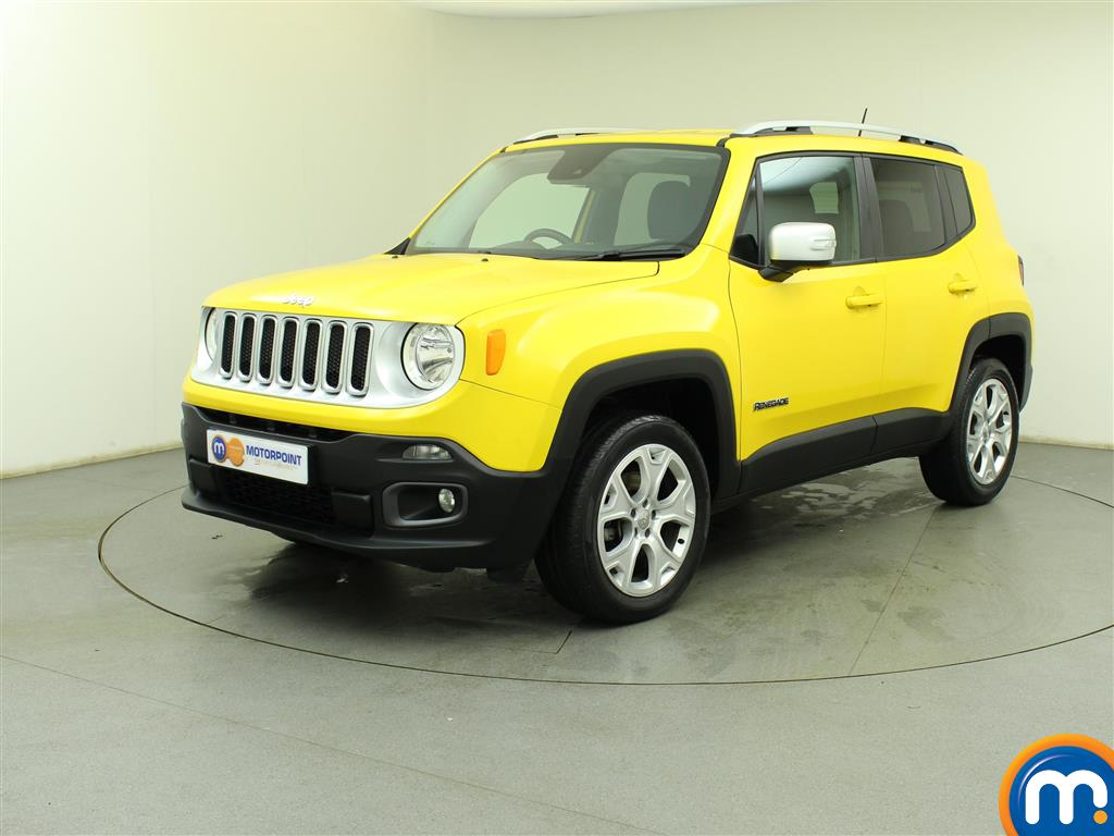 used or nearly new jeep renegade 2 0 multijet limited 5dr 4wd solar yellow for sale in birtley. Black Bedroom Furniture Sets. Home Design Ideas
