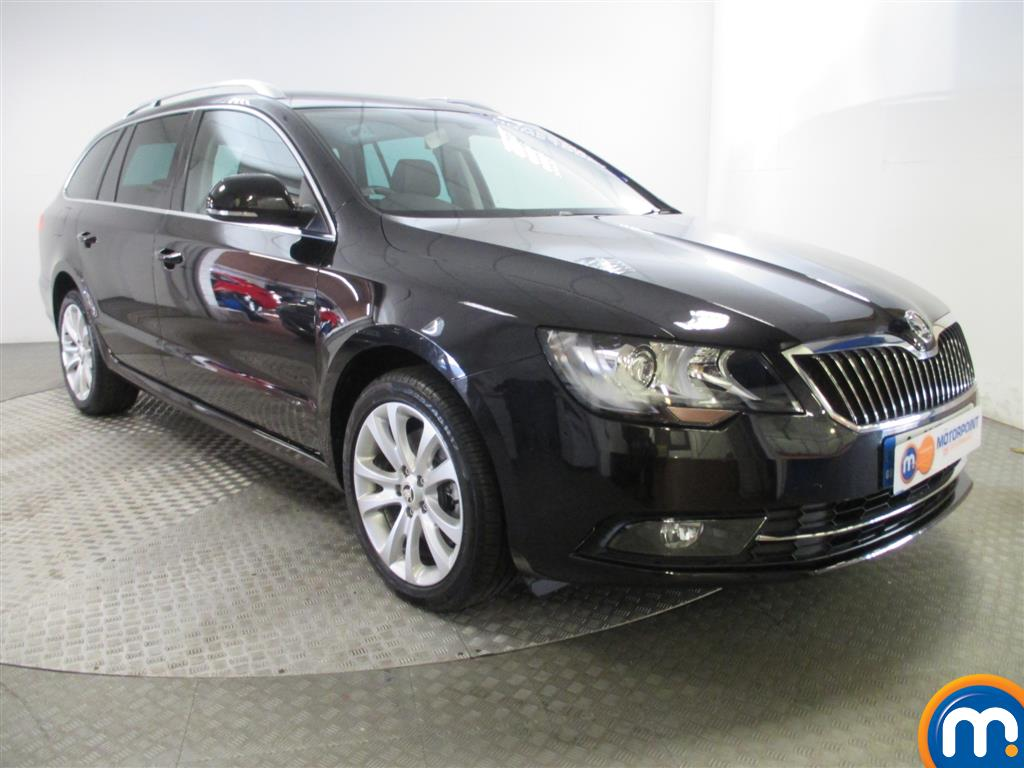 used or nearly new skoda superb 2 0 tdi cr 140 se business estate dsg black for sale in. Black Bedroom Furniture Sets. Home Design Ideas