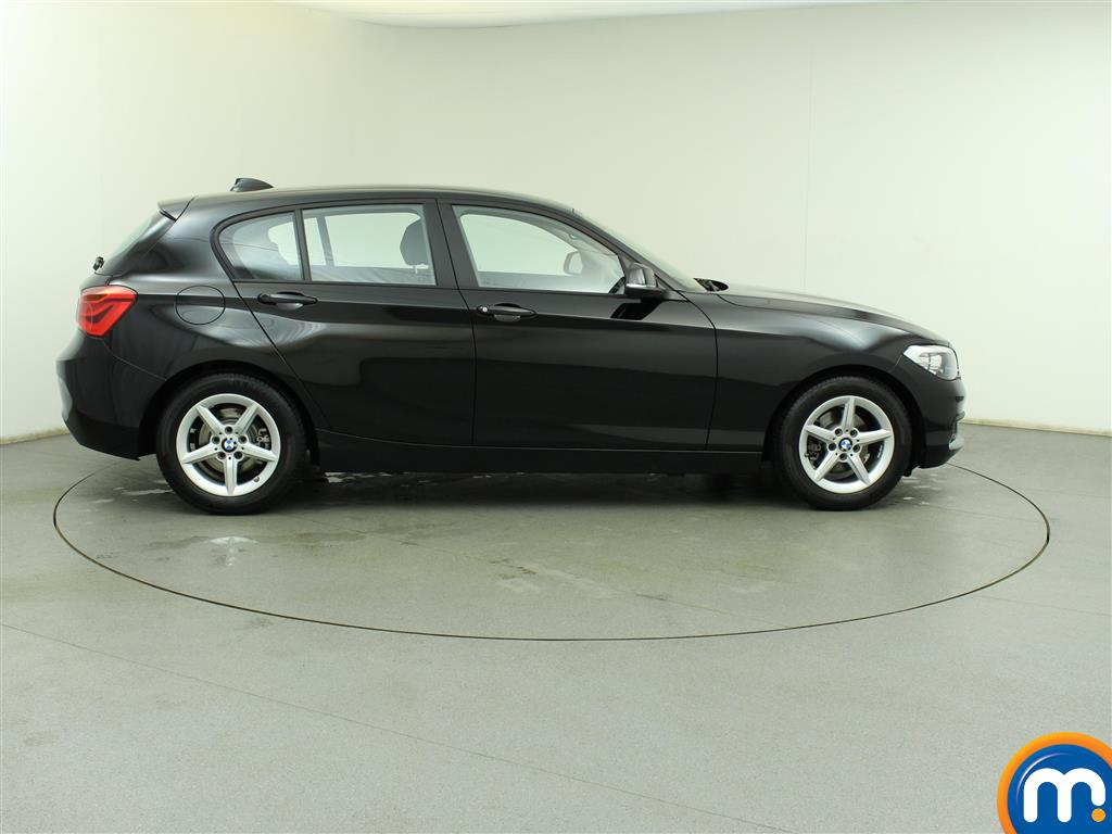 used or nearly new bmw 1 series 116d efficientdynamics plus 5dr new model black for sale in. Black Bedroom Furniture Sets. Home Design Ideas
