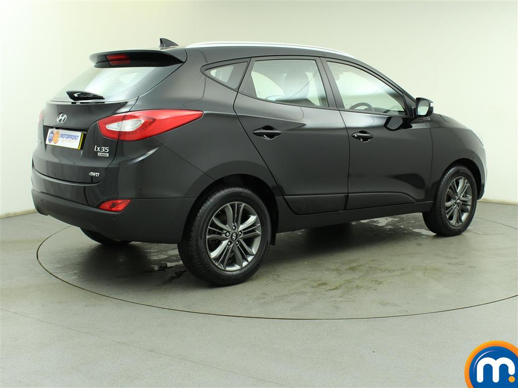 used or nearly new hyundai ix35 2 0 crdi se nav 5dr 4wd black for sale in birtley motorpoint. Black Bedroom Furniture Sets. Home Design Ideas