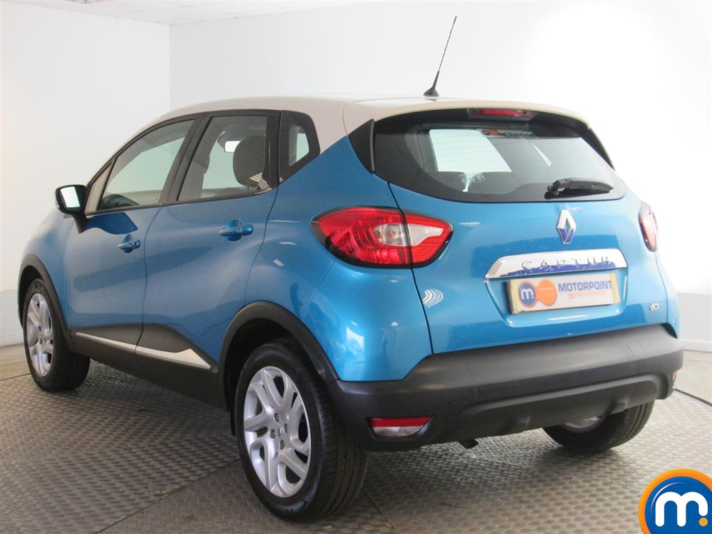 used or nearly new renault captur 1 5 dci 90 dynamique medianav energy 5dr blue for sale in. Black Bedroom Furniture Sets. Home Design Ideas