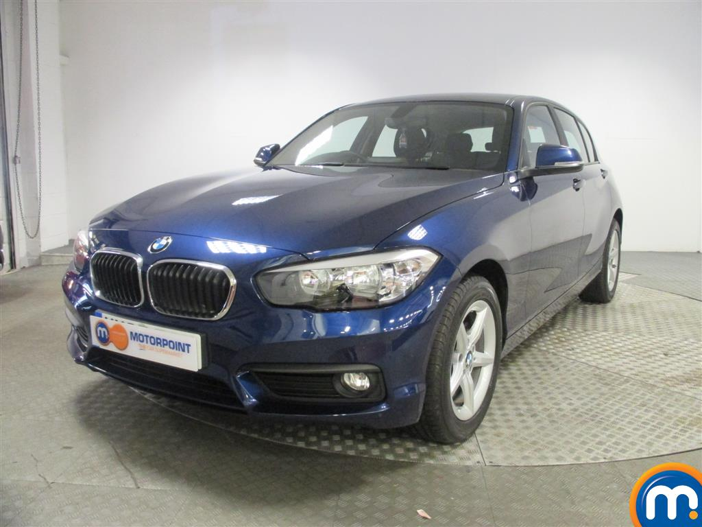 used or nearly new bmw 1 series 116d se 5dr nav dcp new model blue for sale in birmingham. Black Bedroom Furniture Sets. Home Design Ideas