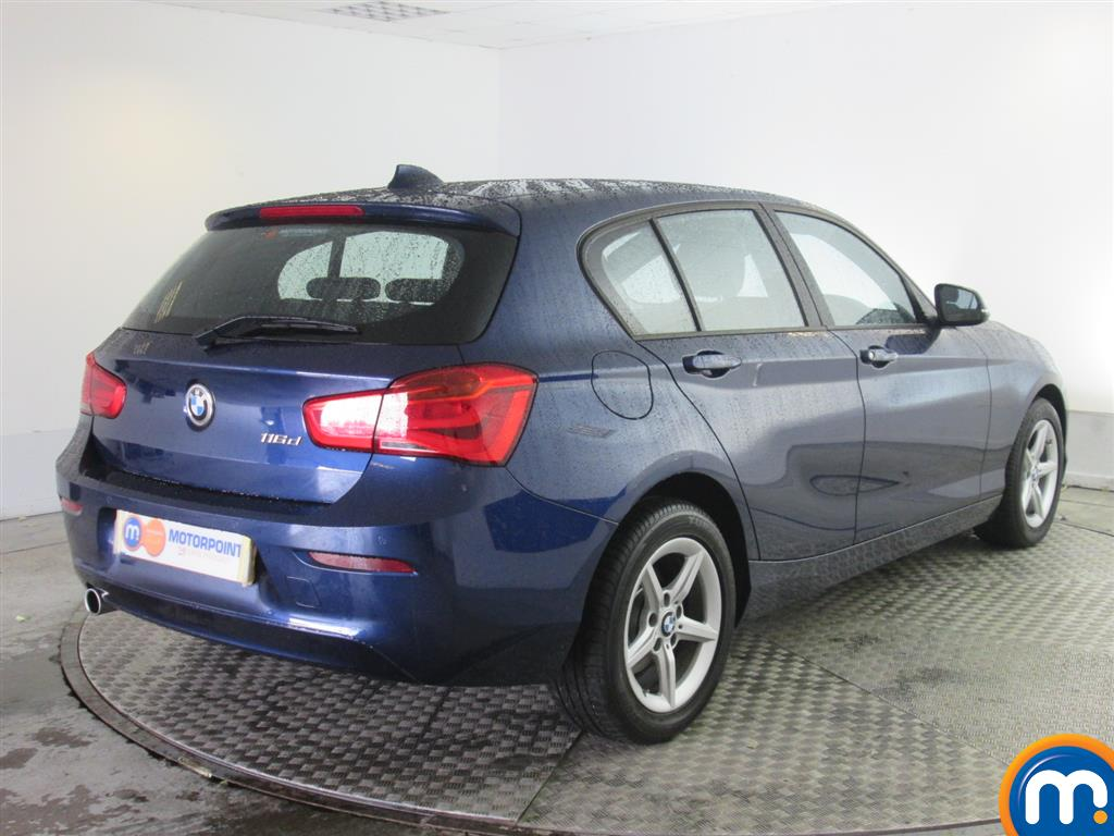 used or nearly new bmw 1 series 116d se 5dr nav dcp new model blue for sale in newport. Black Bedroom Furniture Sets. Home Design Ideas