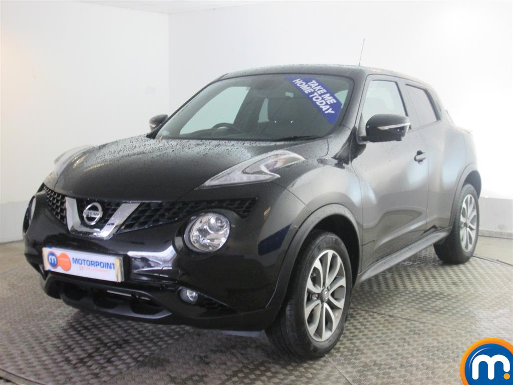 used or nearly new nissan juke 1 5 dci tekna 5dr black for sale in newport motorpoint. Black Bedroom Furniture Sets. Home Design Ideas