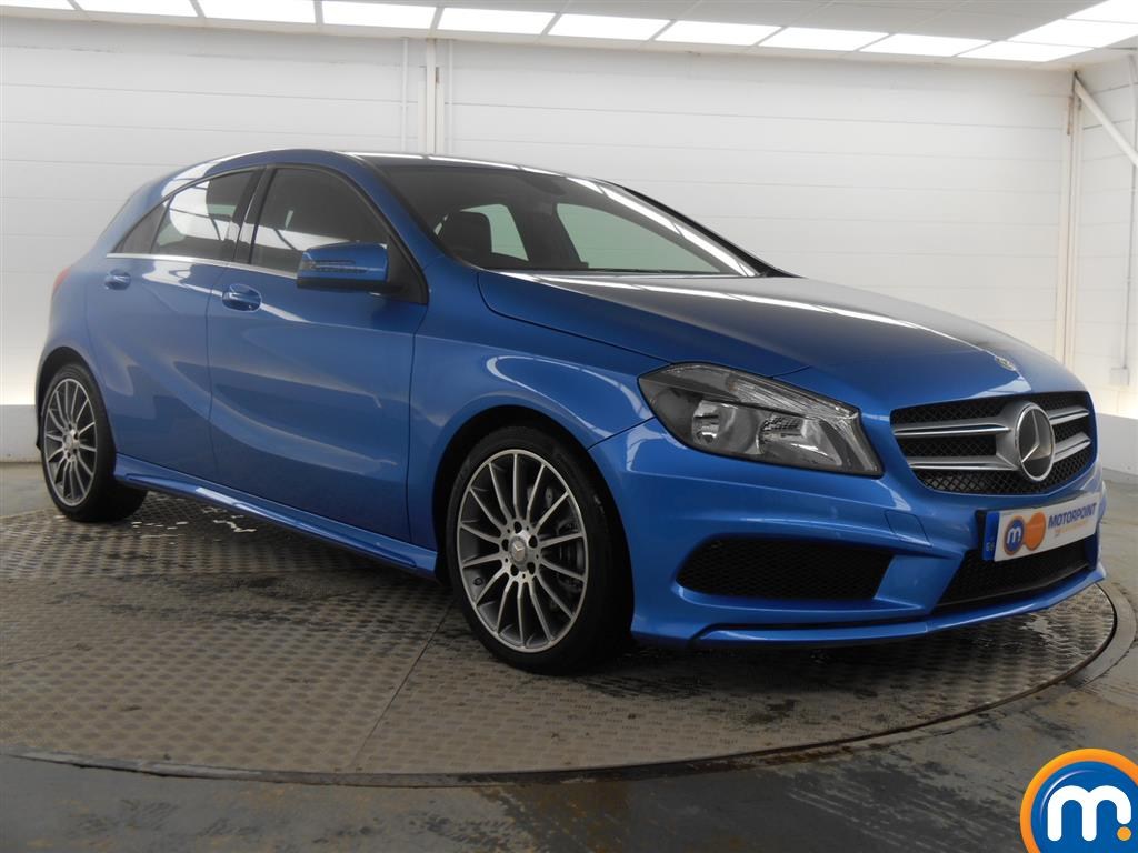 used or nearly new mercedes a class a220 cdi amg sport 5dr. Black Bedroom Furniture Sets. Home Design Ideas