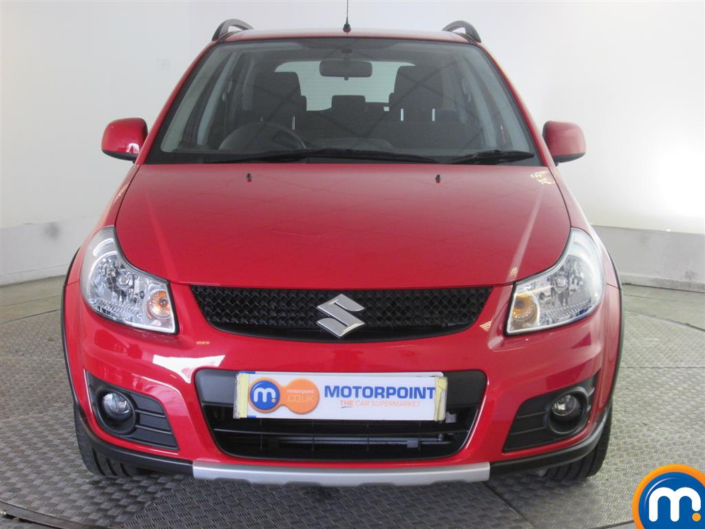 used or nearly new suzuki sx4 1 6 sz5 4x4 5dr red for sale. Black Bedroom Furniture Sets. Home Design Ideas