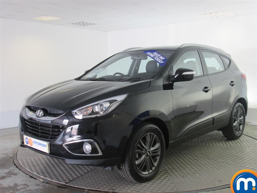 used or nearly new hyundai ix35 2 0 crdi se nav 5dr 4wd auto black for sale in newport motorpoint. Black Bedroom Furniture Sets. Home Design Ideas