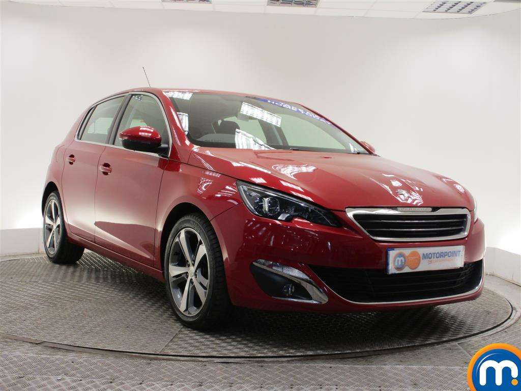 used or nearly new peugeot 308 1 6 hdi 115 allure 5dr red for sale in burnley motorpoint. Black Bedroom Furniture Sets. Home Design Ideas