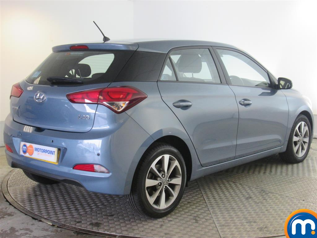 used or nearly new hyundai i20 1 4 crdi se 5dr blue for sale in newport motorpoint. Black Bedroom Furniture Sets. Home Design Ideas