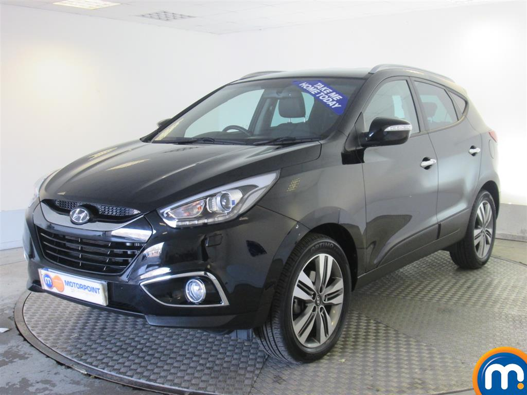 used or nearly new hyundai ix35 2 0 crdi premium 5dr leather 4wd auto black for sale in. Black Bedroom Furniture Sets. Home Design Ideas