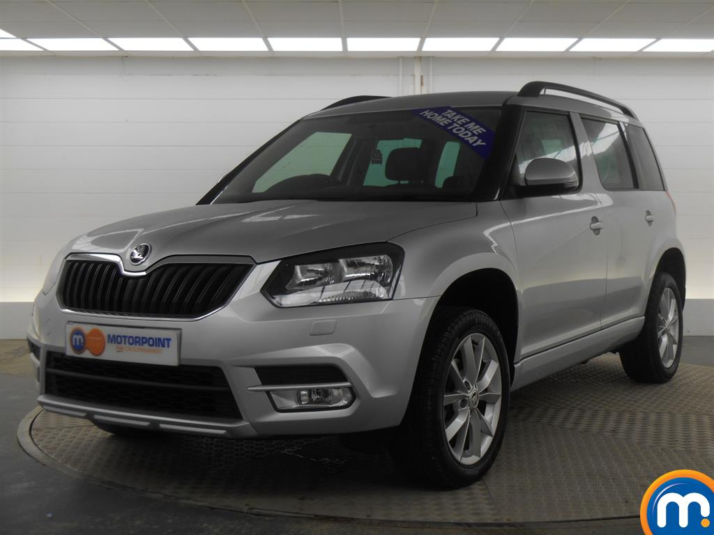 used or nearly new skoda yeti 1 2 tsi se estate silver for sale in derby motorpoint. Black Bedroom Furniture Sets. Home Design Ideas