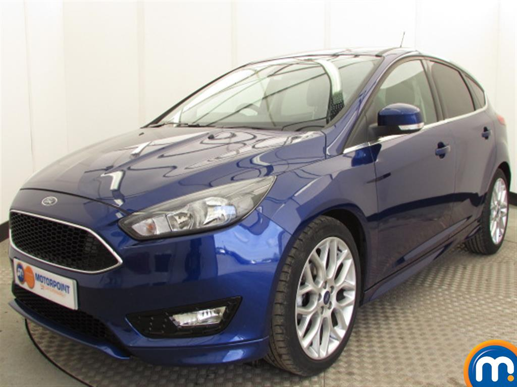 used or nearly new ford focus 1 0 ecoboost 125 zetec s 5dr. Black Bedroom Furniture Sets. Home Design Ideas