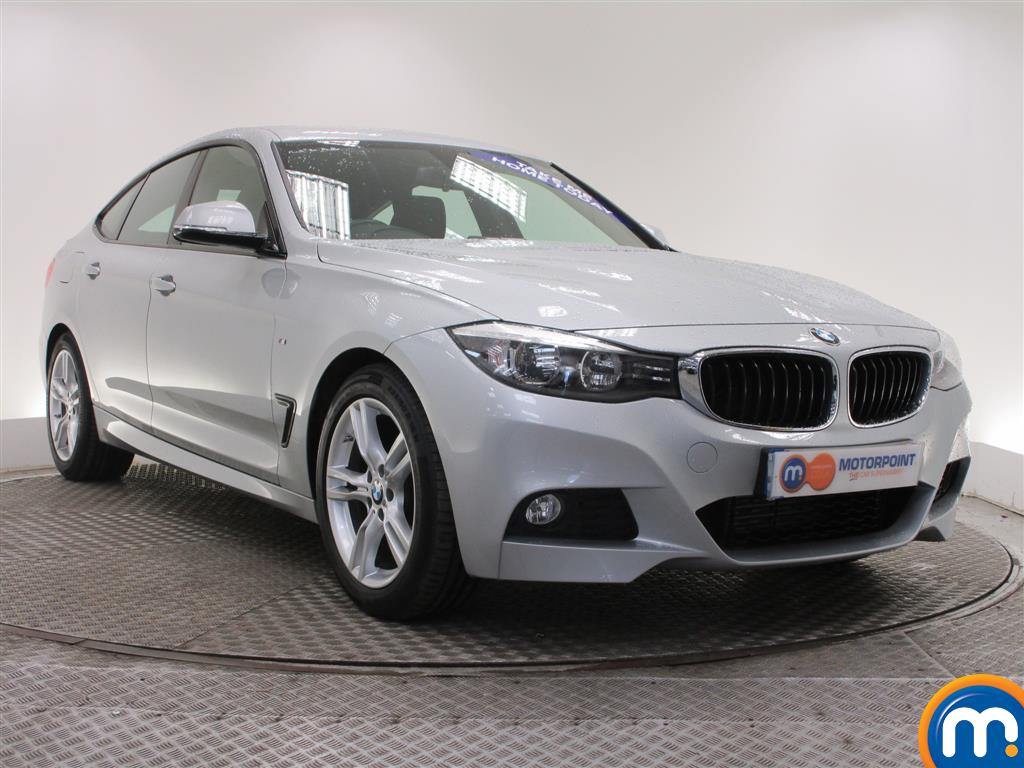 used or nearly new bmw 3 series gt 318d m sport 5dr step auto business media silver for sale. Black Bedroom Furniture Sets. Home Design Ideas