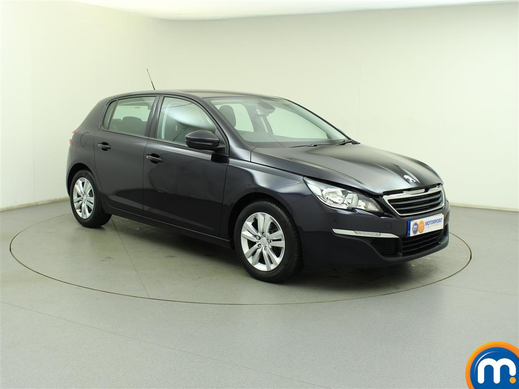 used or nearly new peugeot 308 1 6 hdi 92 active 5dr blue for sale in birtley motorpoint. Black Bedroom Furniture Sets. Home Design Ideas