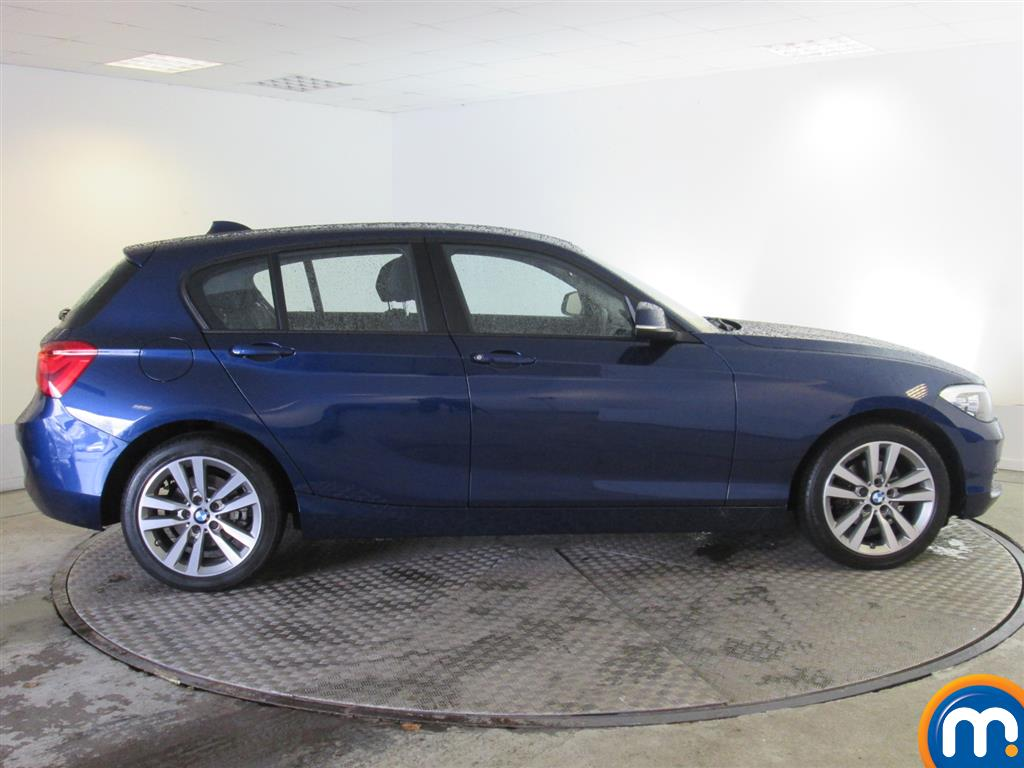 used or nearly new bmw 1 series 116d sport 5dr nav dcp new model blue for sale in newport. Black Bedroom Furniture Sets. Home Design Ideas