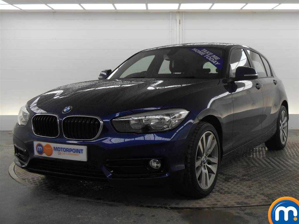 used or nearly new bmw 1 series 116d sport 5dr nav dcp new model blue for sale in derby. Black Bedroom Furniture Sets. Home Design Ideas