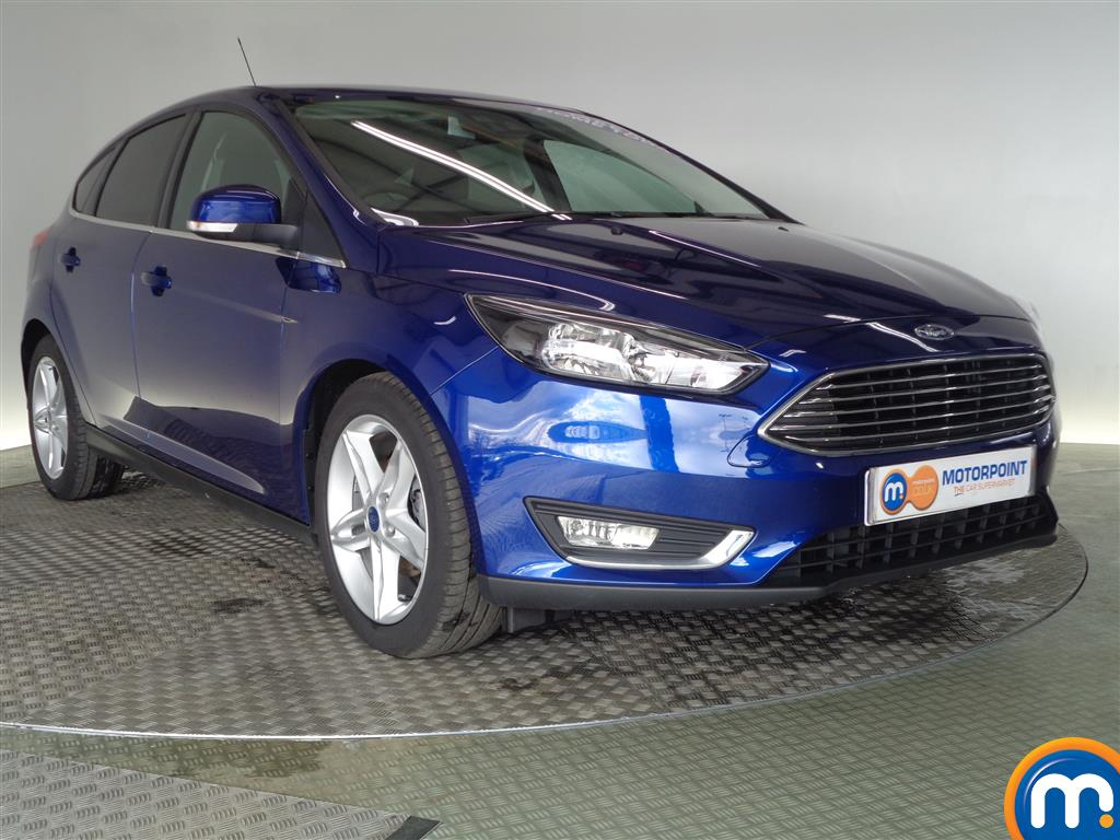 used or nearly new ford focus 1 0 ecoboost 125 titanium. Black Bedroom Furniture Sets. Home Design Ideas