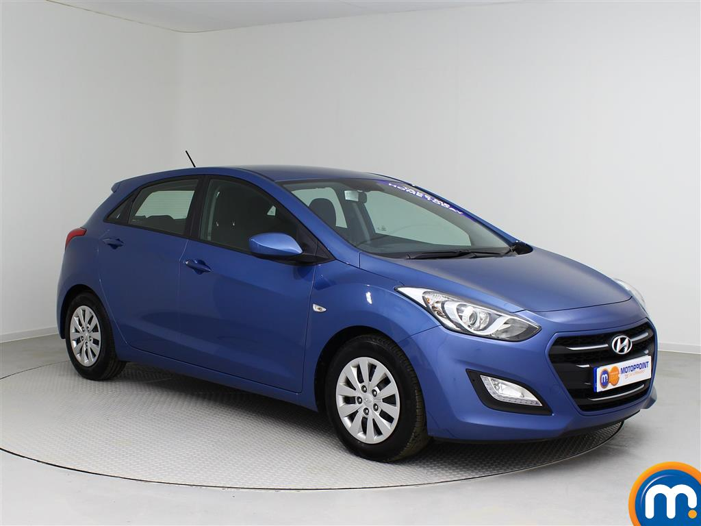 used or nearly new hyundai i30 1 6 crdi blue drive s 5dr blue for sale in castleford motorpoint. Black Bedroom Furniture Sets. Home Design Ideas