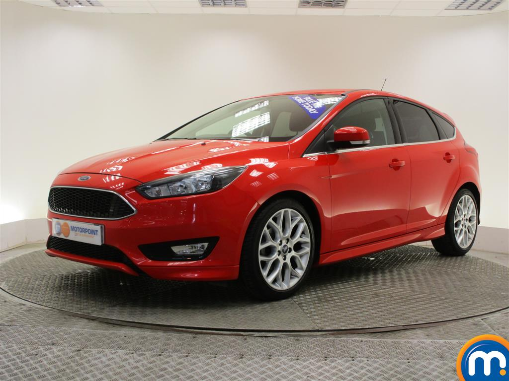 used or nearly new ford focus 1 0 ecoboost 125 zetec s 5dr ap red for sale in burnley motorpoint. Black Bedroom Furniture Sets. Home Design Ideas