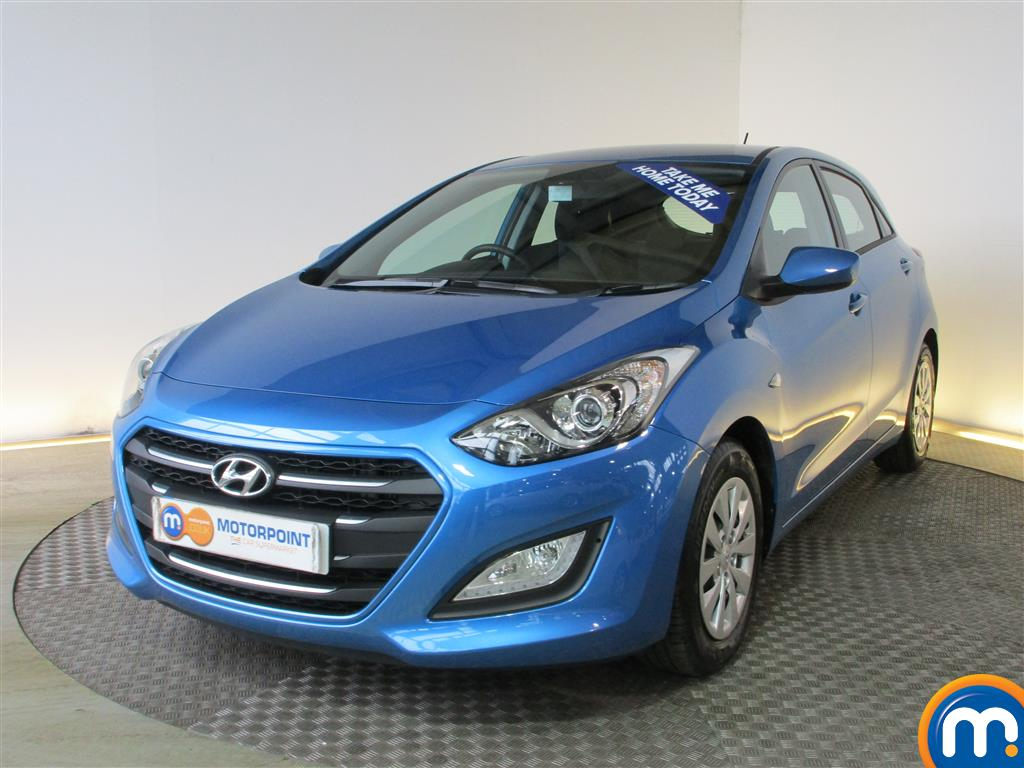 used or nearly new hyundai i30 1 6 crdi blue drive s 5dr blue for sale in chingford motorpoint. Black Bedroom Furniture Sets. Home Design Ideas