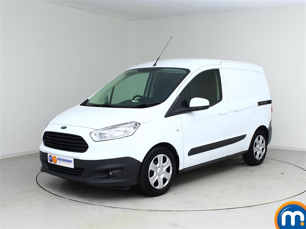 used or nearly new ford vans transit courier 1 0 ecoboost trend van ac frozen white for sale. Black Bedroom Furniture Sets. Home Design Ideas