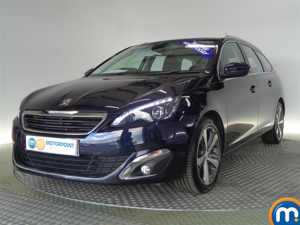 used or nearly new peugeot 308 1 6 hdi 115 allure estate. Black Bedroom Furniture Sets. Home Design Ideas
